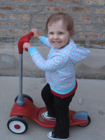 Get, scootin!  Children with cancer need your help!