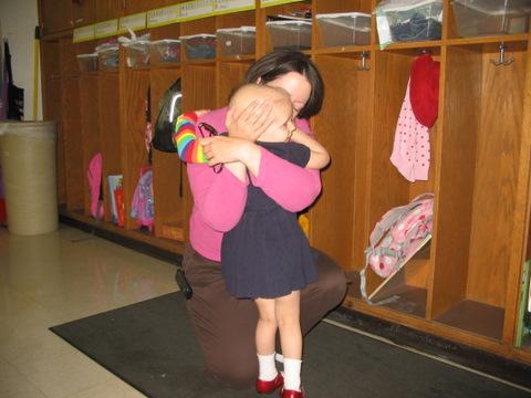 Mama Hugging Donna