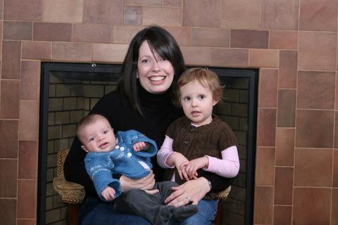 Mama and her kiddos