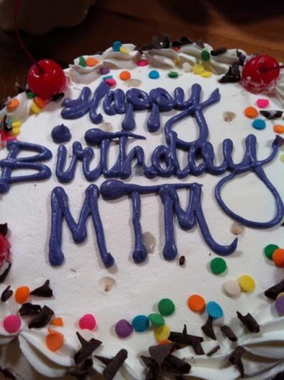 MTM Birthday Cake