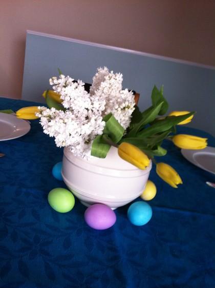 Tulip, Lilacs, Eggs
