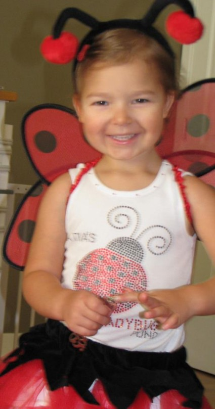 Atia as Ladybug