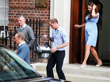 Princess Kate Leaving Hospital