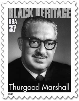 Supreme Court Justice Thurgood Marshall.