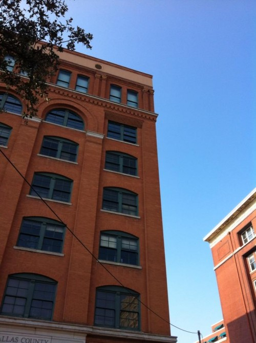 The Book Depository Building, now knows as the Sixth Floor Museum
