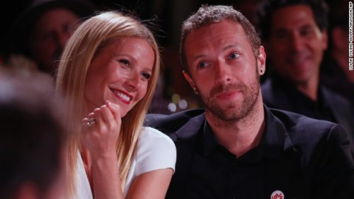 The happy couple in happier times.