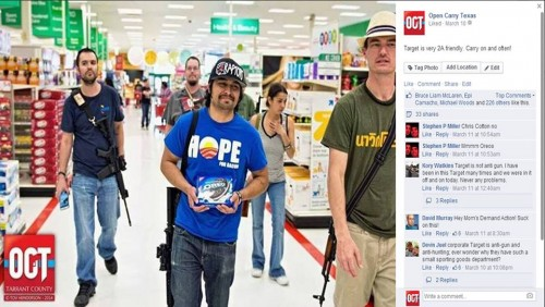 Photo from the Open Carry Texas Facebook page.