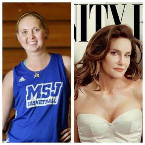 Lauren Hill and Caitlyn Jenner.  Does one of these women have the corner on courage?