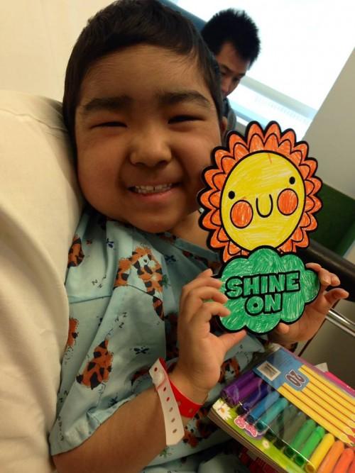 Shine on, Ava!