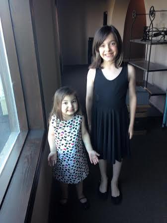 Mia and Rachel, sisters.
