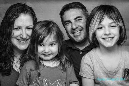 Mia and family.  Photo by Flashes of Hope