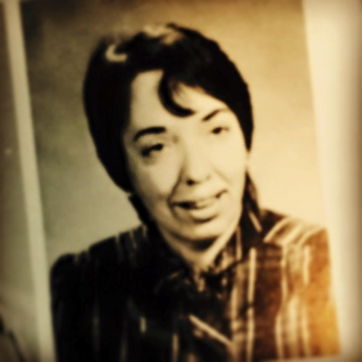Miss Norma Cooper, c. 1985.  She never returned to our school, no mention was ever made in the yearbook.  A school shooting swept under the carpet.