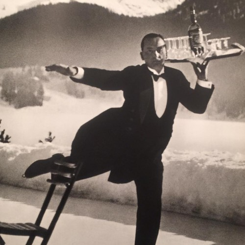 One of my most lasting memories from this book, in image that will forever inform true glamour for me, is this photo of the ice skating waiter.  In 1930s St. Moritz, Switzerland.