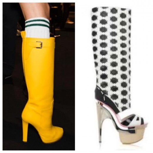 "It's amazing what pops up when you Google, ""hooker rain boots."""
