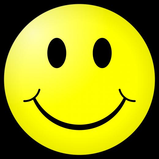 Smile!  Be happy!