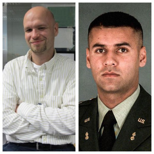 Sean Smith and Captain Humayun Khan.  I honor their service and their sacrifice.