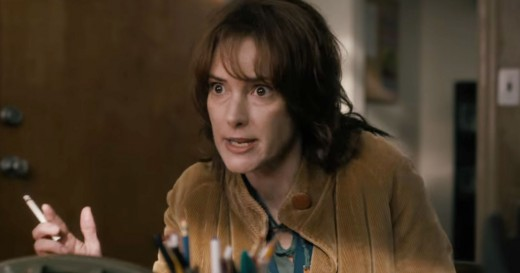 Winona as frazzled single mom of missing child.