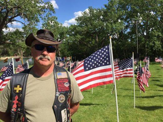 Matter, veteran and biker. Volunteers with the Veterans Network Committee of Northern Illinois.